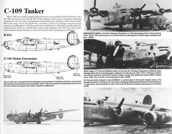 C-109 Tanker Historical Information